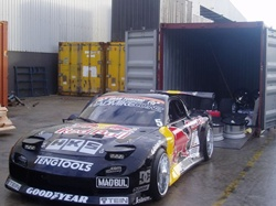 Mid Mike Drift Car shipping